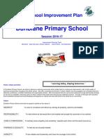 School Improvement Plan 2016-17