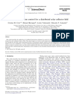 2007 - Feedback Linearization Control for a Distributed Solar Collector Field