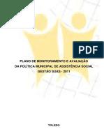 Plano de Informacao, Monitoramento e Avaliacao_ - SUAS