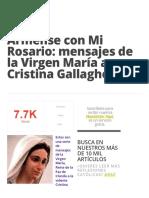 Armense con Mi Rosario_ mensajes de la Virgen María a Cristina Gallagher » Foros de la Virgen María.pdf