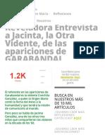 Reveladora Entrevista a Jacinta, la Otra Vidente, de las apariciones de GARABANDAL » Foros de la Virgen María.pdf