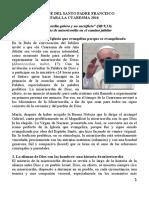 Mensaje Del Santo Padre Francisco