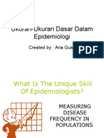 De 05 Ukuran Ukuran Dasar Dalam Epidemiologi