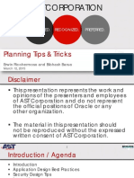 15 03 12 Planning Tips and Tricks