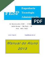Manual Do Aluno 2013 Fesp