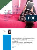 Baromètre 2016 de l'offre de livres numériques en France - KPMG