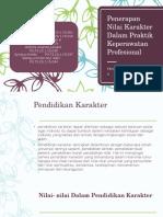 Penerapan Nilai Karakter Dalam Praktik Keperawatan Profesional