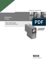 Sick Manual DME 3000-1 P