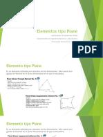 Elementos tipo plane