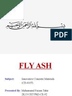 Fly Ash (2k11 Uet Phd Ce 92)