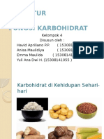 Biokimia Struktur Fungsi Karbohidrat Fiks
