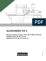 Arburg Allrounder 370s Td 527559 en Us