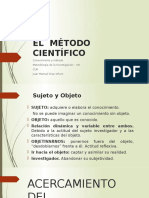 2. El Método Científico