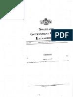 Legal Notice No.105 of 2015