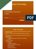 Polymer Processing Handout