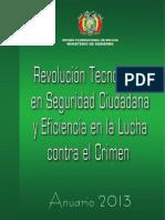 ANUARIO MINISTERIO DE GOBIERNO 2013