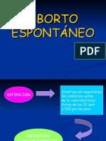 ABORTO ESPONTANEO 2