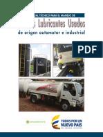 Manual Técnico Para El Manejo de Aceites Lubricantes Usados - MinAmbiente 2da Ed.