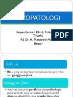 Psikopatologi - Dr Rininta