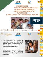 Presentación de La Campaña de Comunicación Social