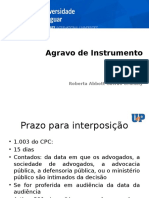 Agravo de Instrumento NCPC