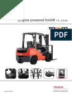 Forklift Detail