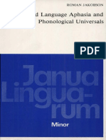 Child Language Aphasia and Phonological Universals