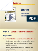 Lecture 9 - Database Normalization.pdf