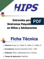 (CHIPS) Entrevista Para Síndromes Psiquiátricos en Niños y Adolescentes