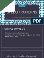 SPEECH-PATTERNS.pptx