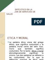 Componente Etico en La Prestacion de Servicios de Vicky