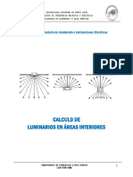 Tema Vl. Calculo de Luminarios Para Interiores Metodo de Lumen