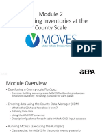 MOVES Users guide Module 2