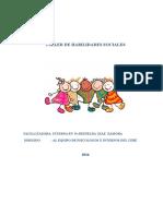 Taller Vivencial de Habilidades Sociales Plan de Ac