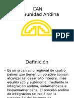 Exposición de la comunidad Andina