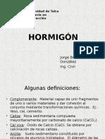 Clases de Hormigon
