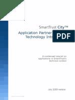 SmartTrust City APP TechnologyIntroduction June2009