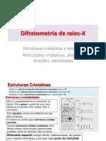 Difratometria de Raios-X