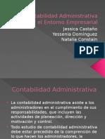 La Contabilidad Administrativa y El Entorno Empresarial