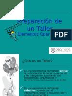 Elementos Operativos, Taller.