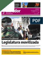 Edición impresa del viernes 16 de septiembre de 2016