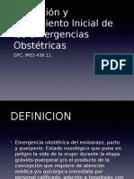 Emergencia Obstetrica
