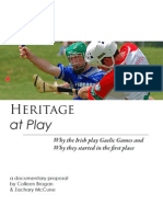 Heritage at Play Proposal