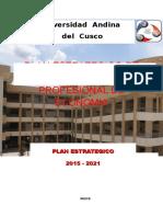 Plan Estrategico Ep.econ. Corregido 2012 - 2021 10.04-15 Uac