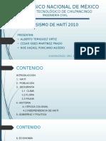 SISMO DE HAITI 2010.pptx