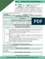 Plan 6to Grado - Bloque 1 Geografía (2016-2017).Doc