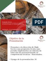 Propuesta Evaluación Competencias Técnicas_High Service