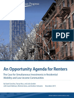 An Opportunity Agenda for Renters