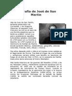 Biografía de José de San Martin