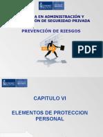 Capítulo 6 - Elementos de Proteccion Personal